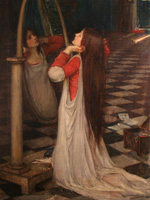 John William Waterhouse - Mariana in the South (study)