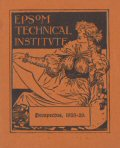 Epsom Technical Institute Prospectus 1925-1926
