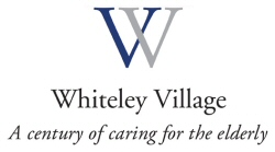 Whiteley Village logo - A century of caring for people